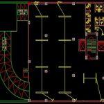 نقشه کامل تاسیسات برق برج تجاری مسکونی 3700 متری در اتوکد