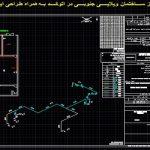 نقشه کامل گاز ساختمان ویلایی جنوبی در اتوکد به همراه طراحی ایزومتریک